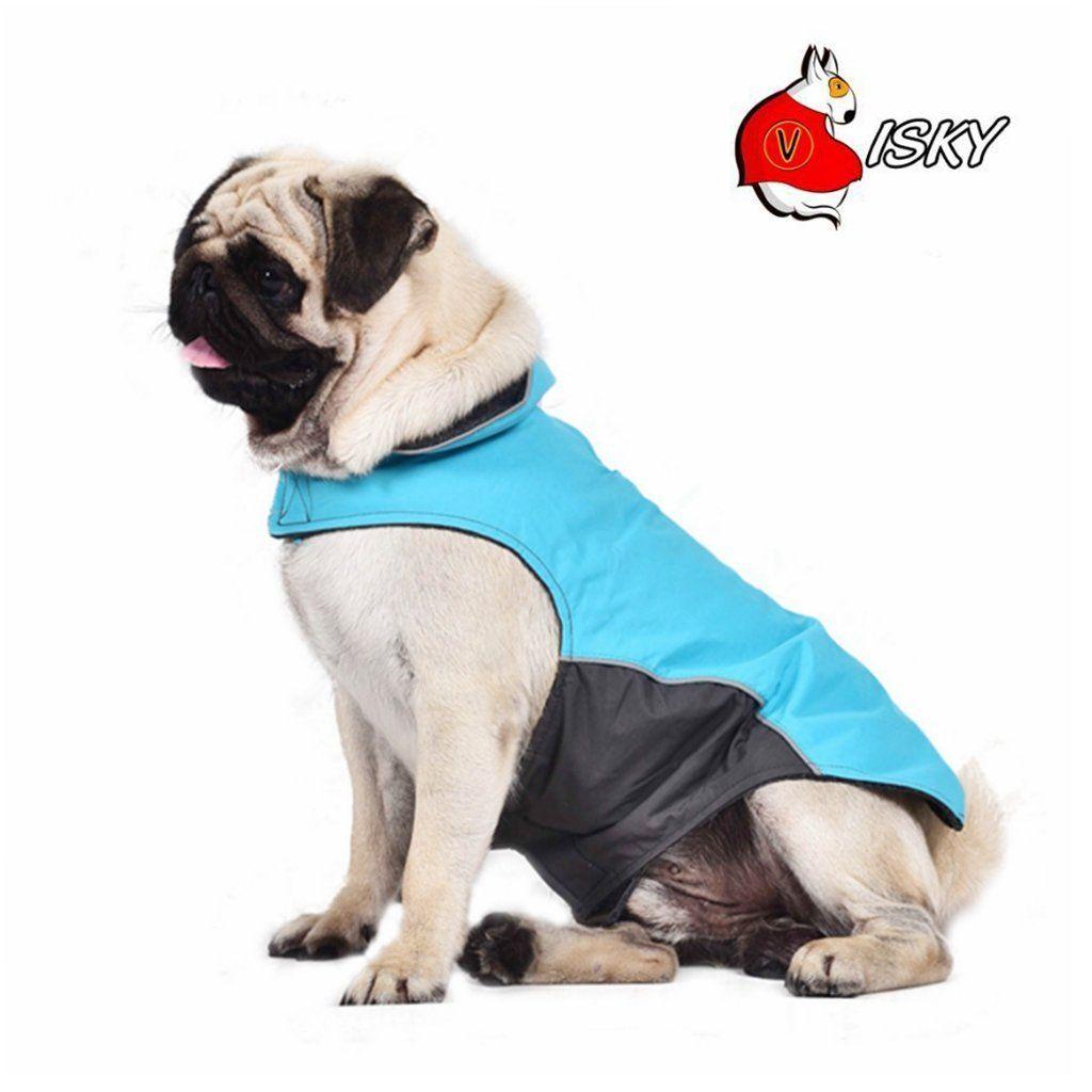 Visky cat Jacket Dog Winter Coat, Vest Dog Snowsuit Apparel Blue-M * Review more details here : Cat sweater