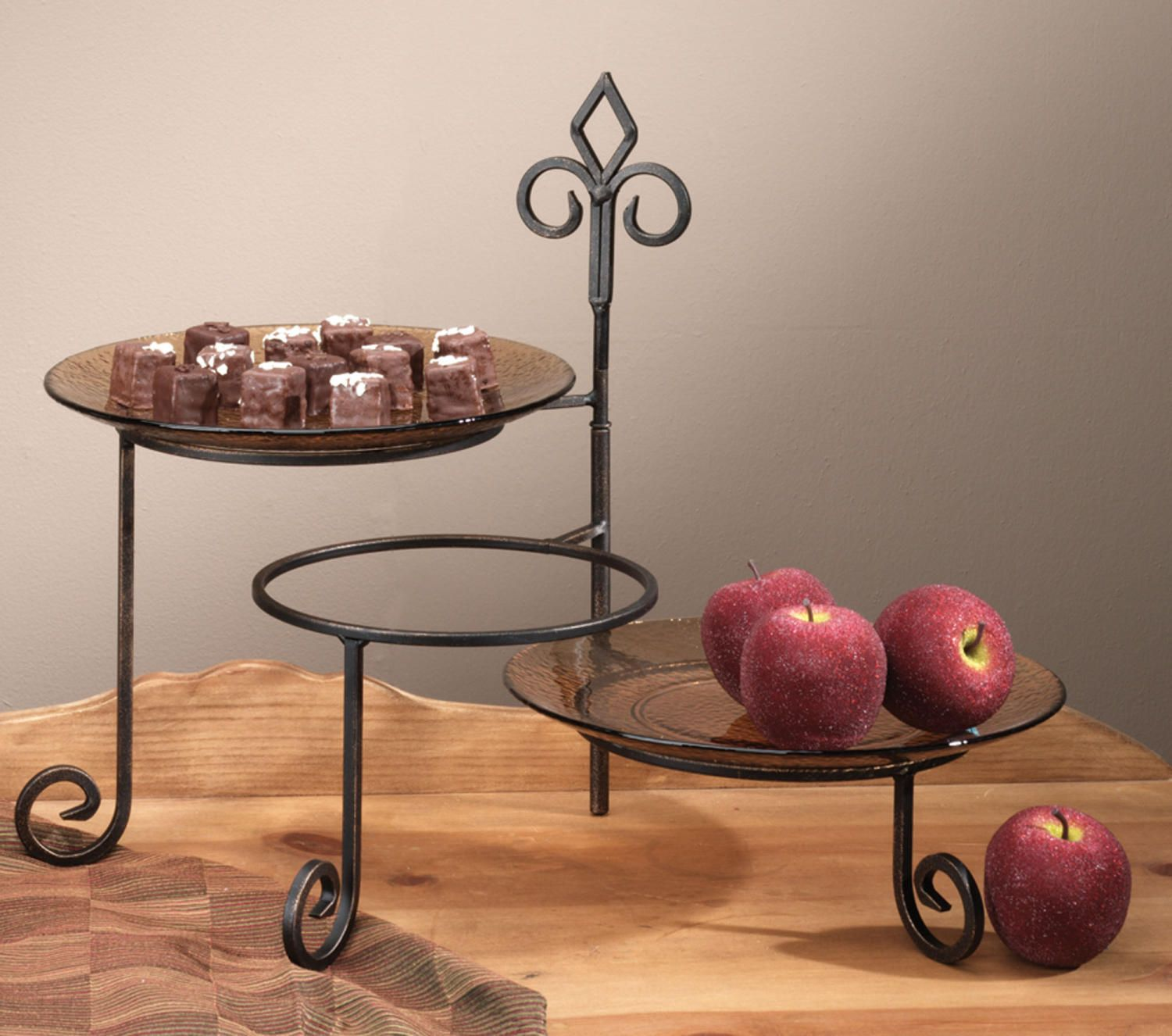 Keller 3 Tier Swivel Plate Stand (Buffet & Serving)