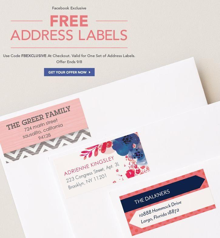 Tiny Prints – Free Address Labels