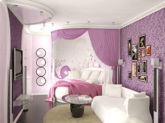 комната для девочки подростка современный дизайн интерьера