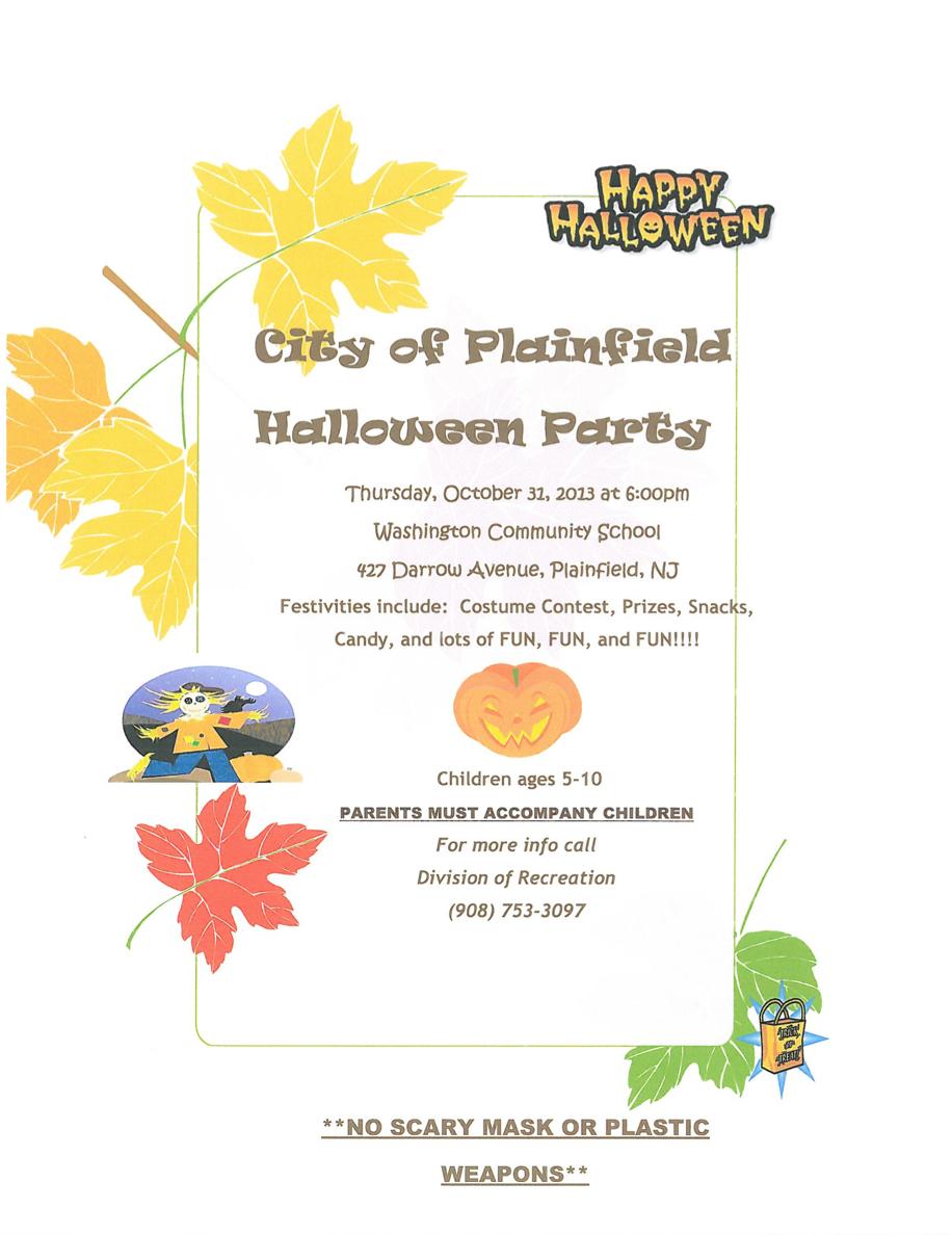 Plainfield Halloween Event Halloween Event Halloween