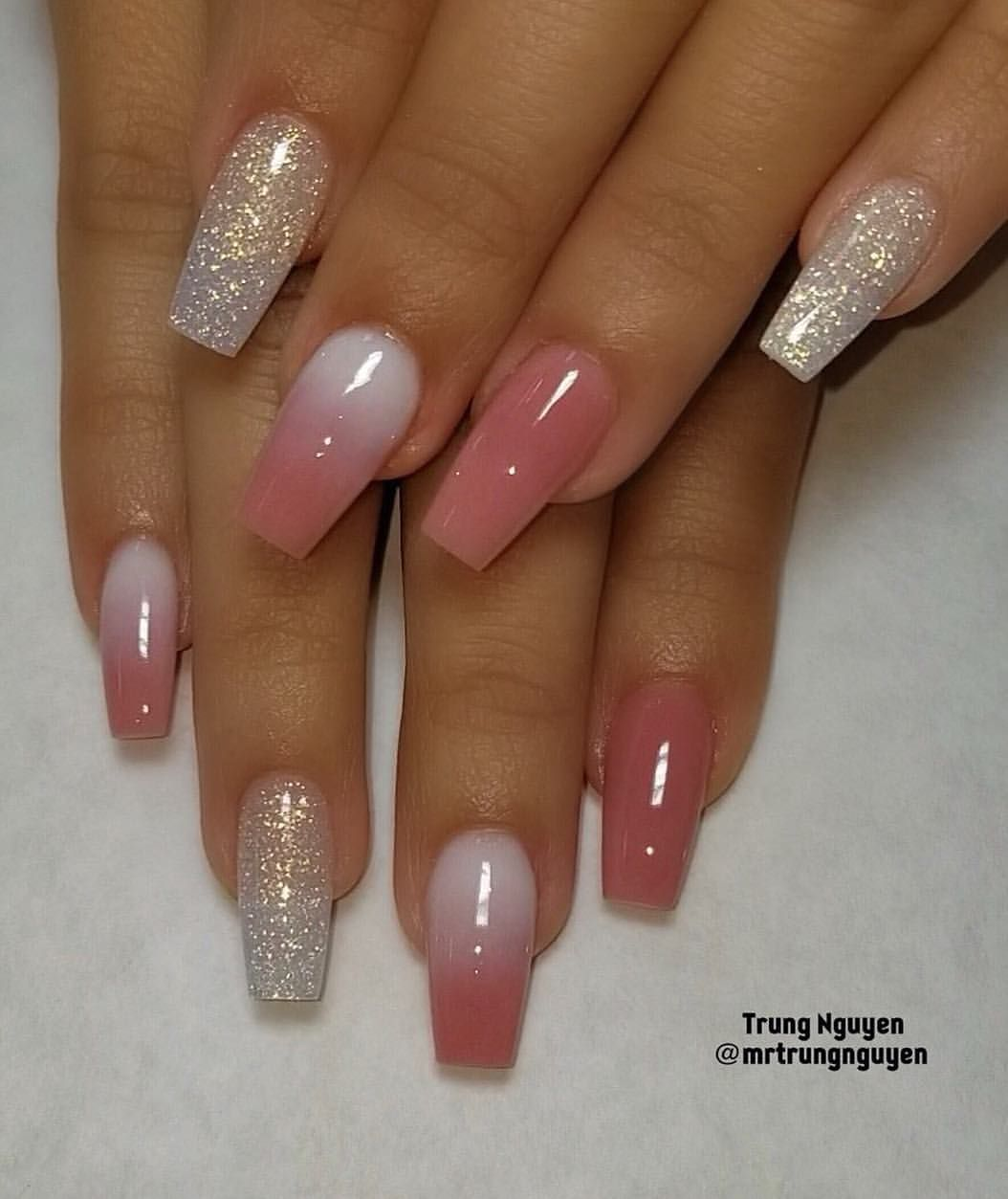 All Acrylic Nails Design Allacrylic Coloracrylic Nails Nailsonfleek Nailswag Nailfashion Fashion Fashionbl Coffin Nails Designs Nail Designs Fake Nails