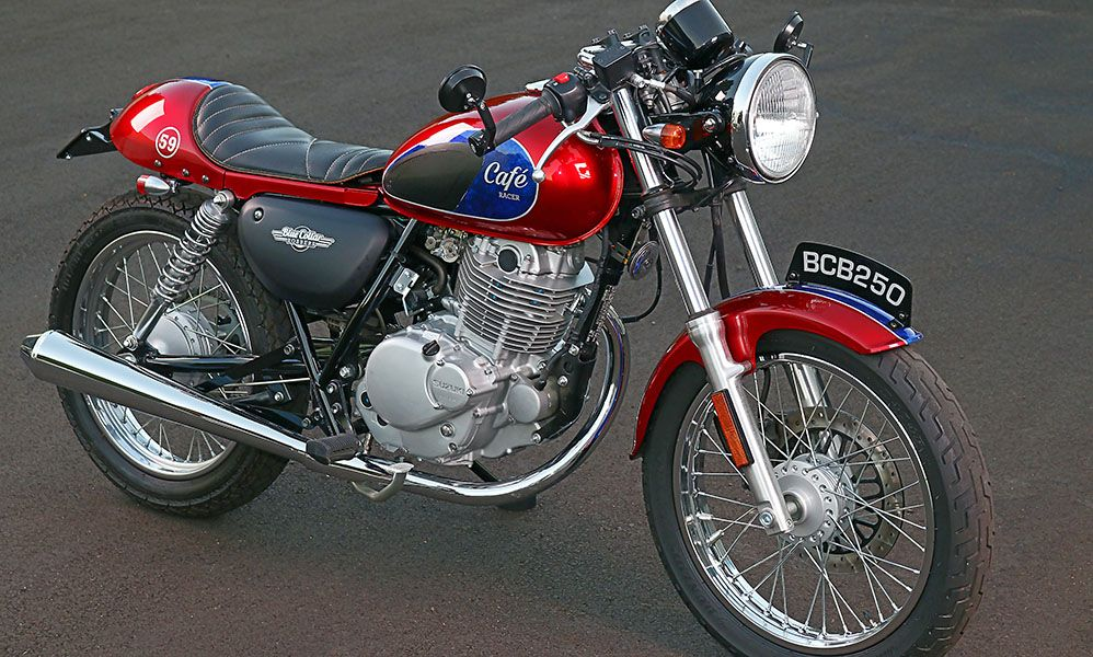 Blue Collar Bobbers Suzuki TU250x Custom Cafe Racer Kit
