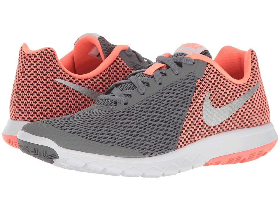 info for 6545f 4dc73 Nike Flex Experience RN 6 Women s Running Shoes Cool Grey Metallic  Silver Lava Glow