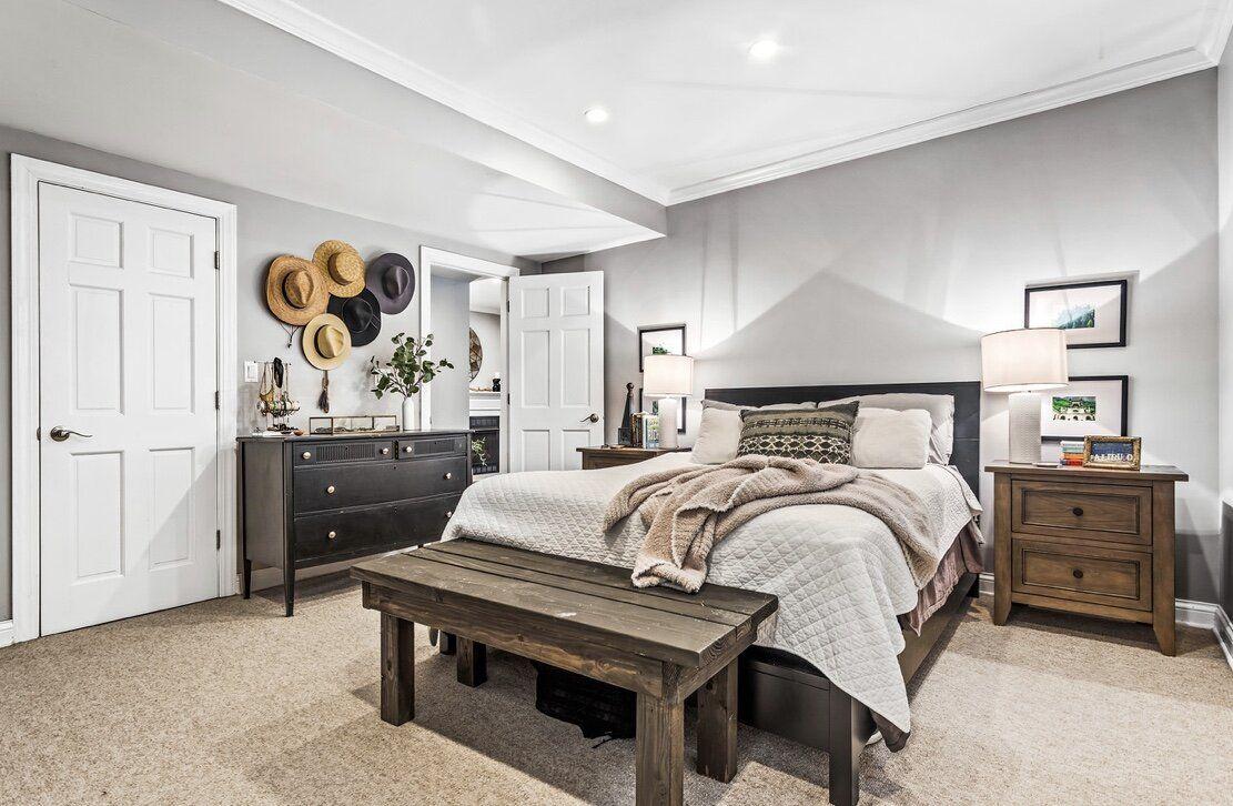 Master bedroom staging in 2020 Home decor, Arlington