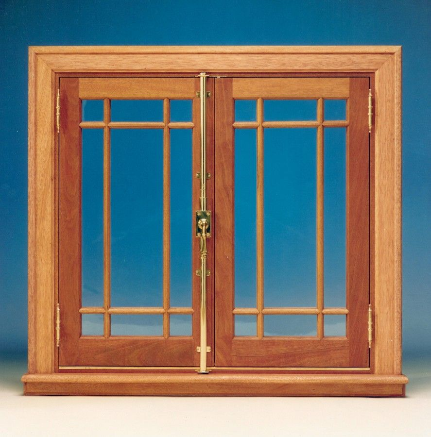 Inswing Wood Casement Window Solid South American Mahogany Solid Brass Surface Mounted Cremone Bolt On Casement Windows French Casement Windows Wood Windows
