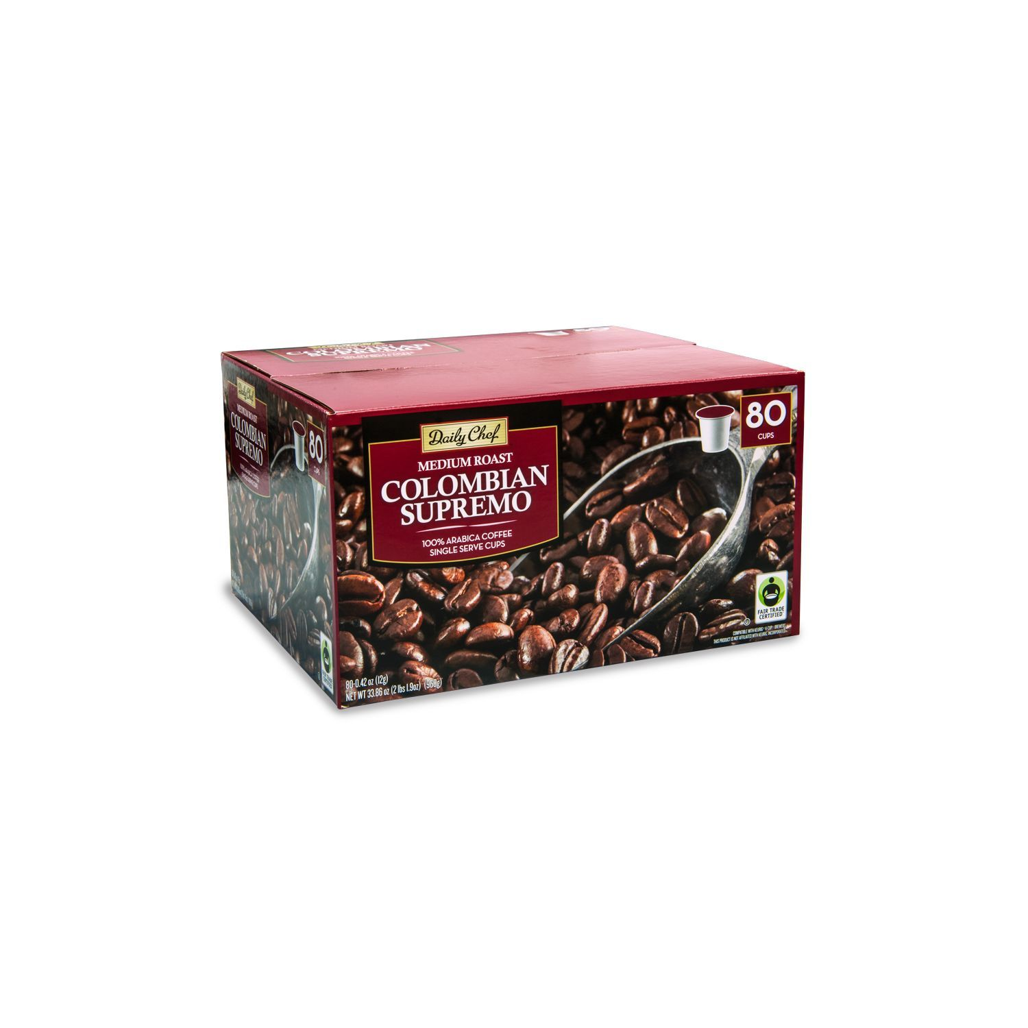 Shop Today And Save In The Coffee Aisle Of Your Local Sam S Club 80 Servings Of Daily Chef Single Serve Coffee For 32 98 Available Chef Arabica Coffee Roast
