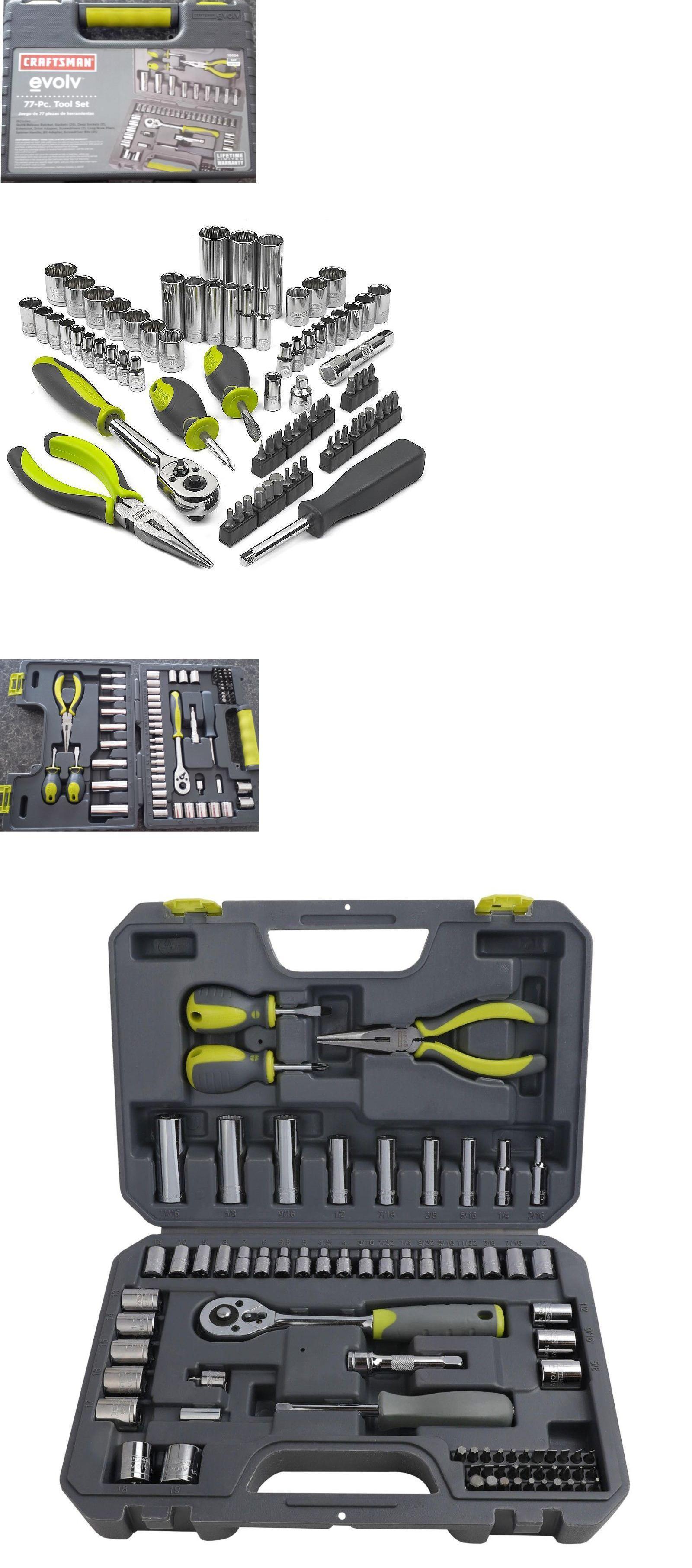 Craftsman Evolv 7 pc Hex Bit Socket Set INCH SAE