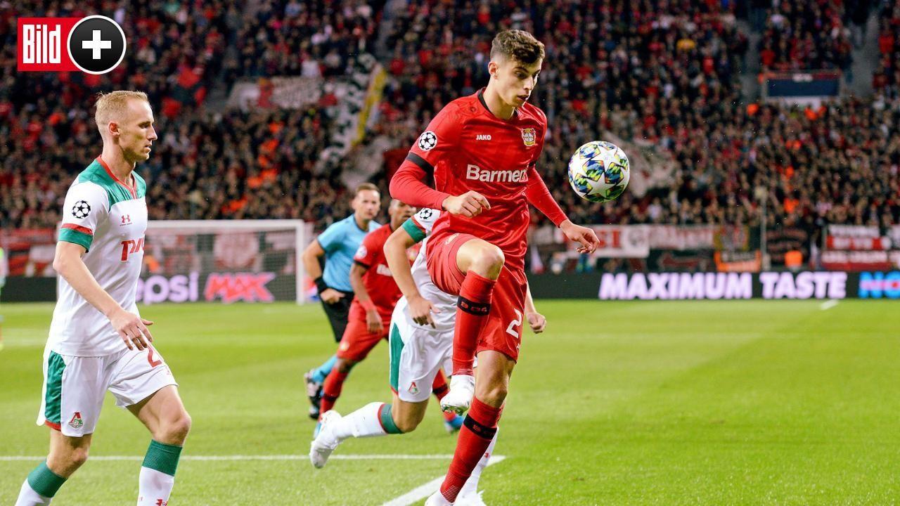 Bayer Leverkusen Nachster Top Klub Baggert An Kai Havertz Bayer Leverkusen Kai Augsburg