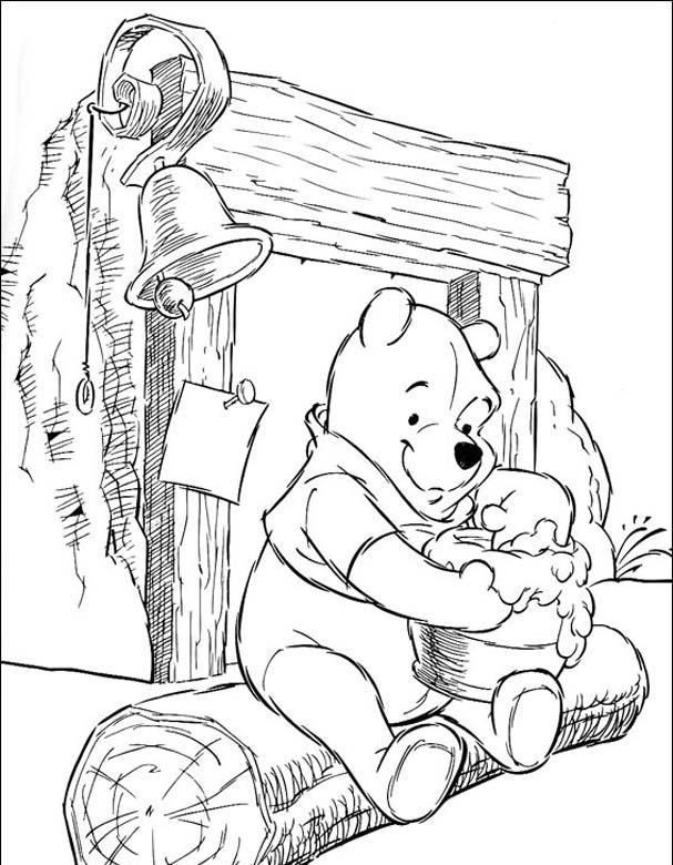 Winnie The Pooh Coloring Pages Brotherbangun Net Disney Coloring Sheets Disney Coloring Pages Coloring Pictures