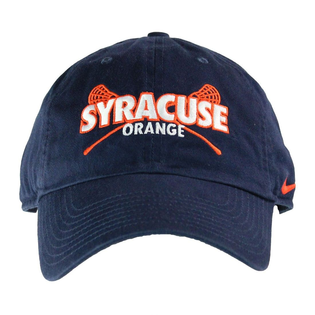 420650247d1 Syracuse Nike Campus Hat Syracuse Orange Design with Lacrosse Sticks on  Front Of Hat Orange Nike Check on Left Side of the Hat Size- Adjustable  Strap on ...