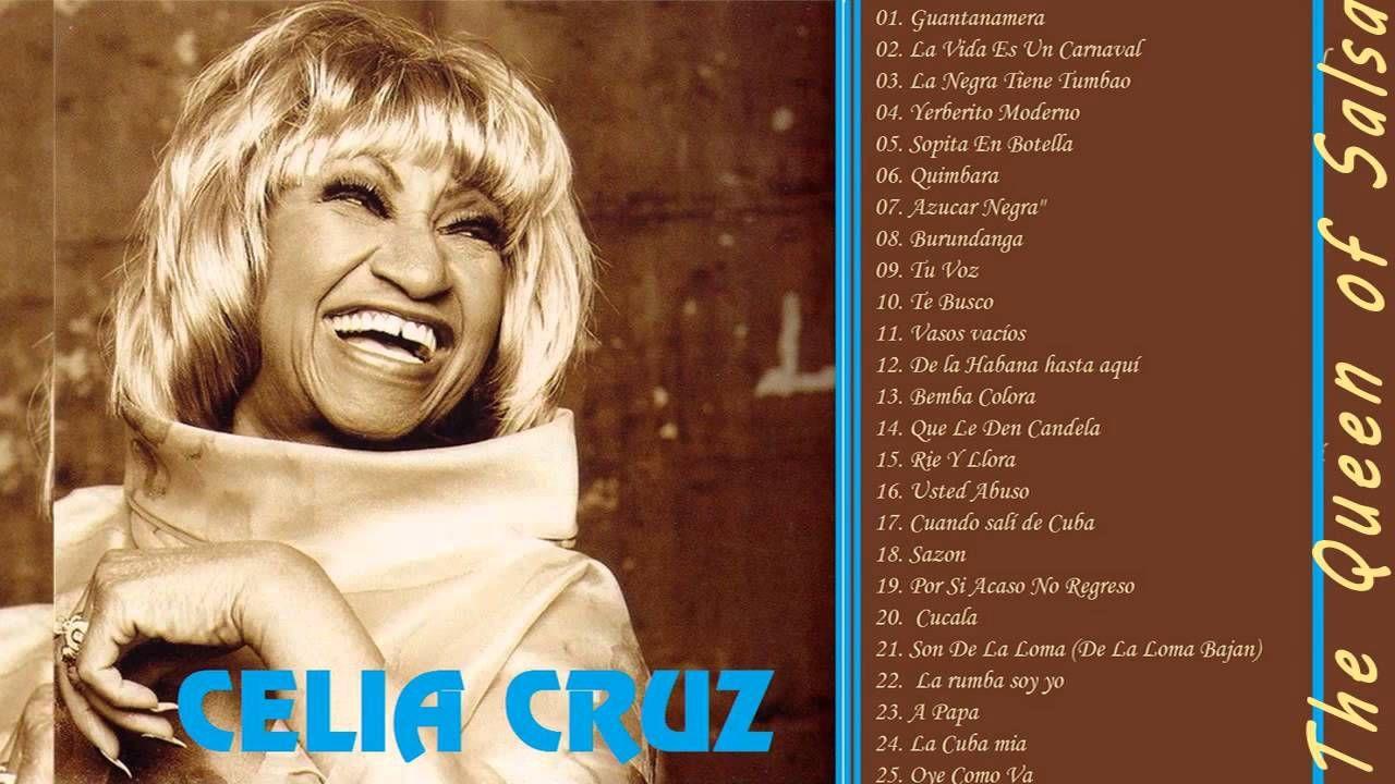 Celia Cruz Sus Mejores Éxitos