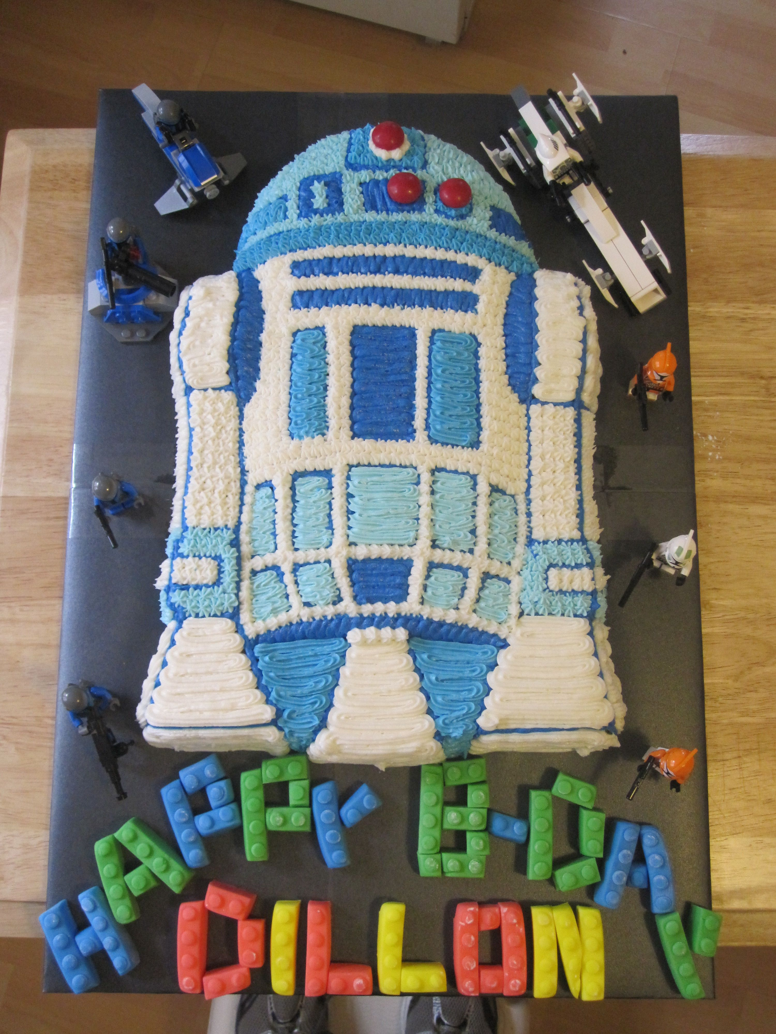 R2d2 cake wilton panohhh even the right name