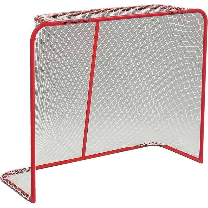 089edcf7115 Black Ice 54   Metal Ice Hockey Goal