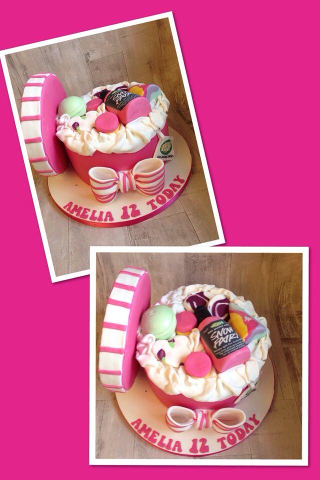 Bath Bombs Lush Cosmetics Cake Birthday Party Baby Girl Cakes Ideas