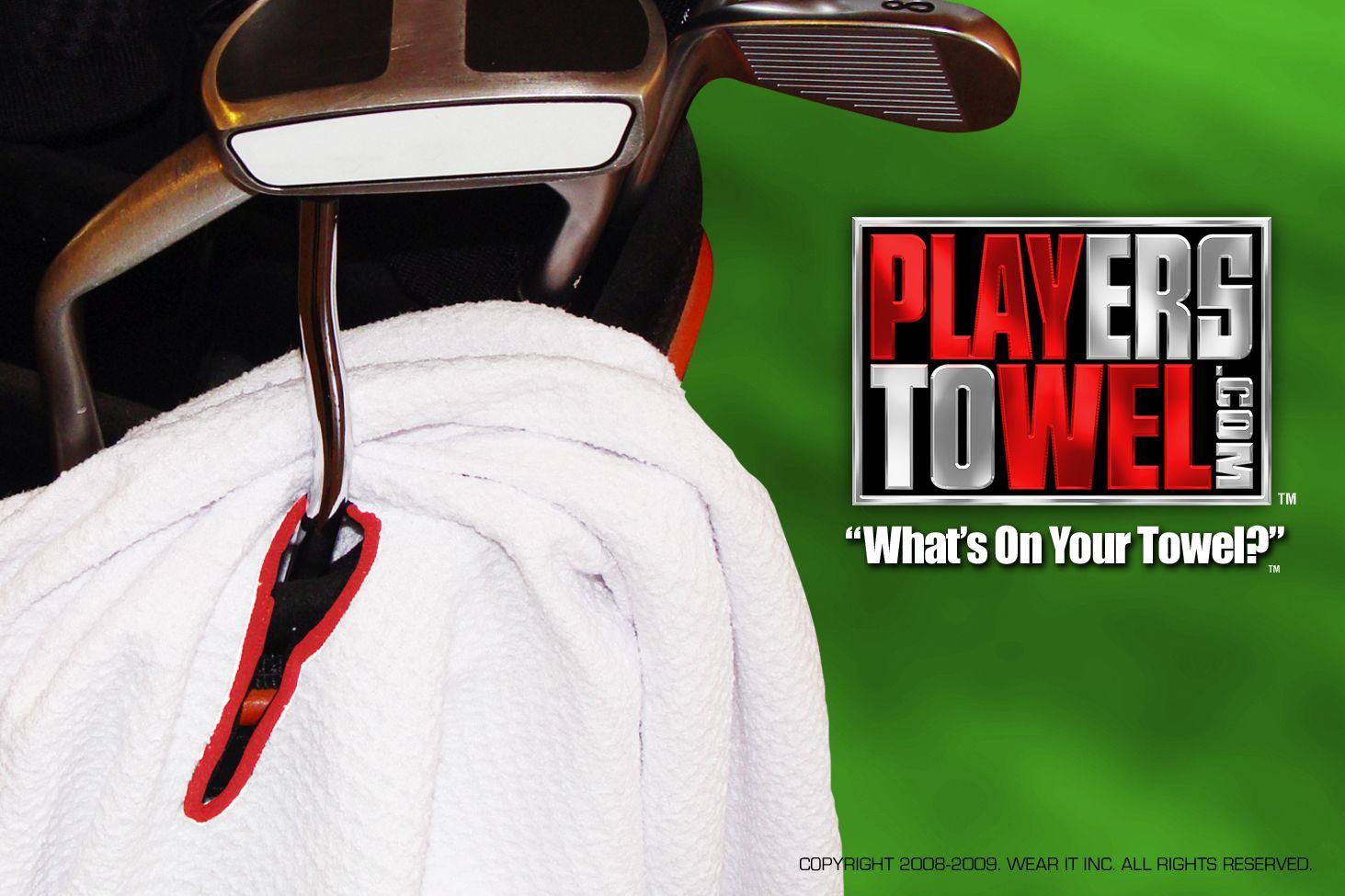 18++ Callaway players golf towel information