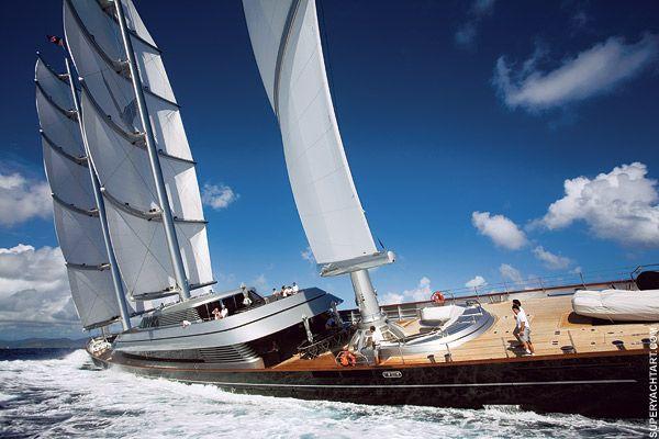 Biggest sailing boat Wally yachts, Sailing yacht