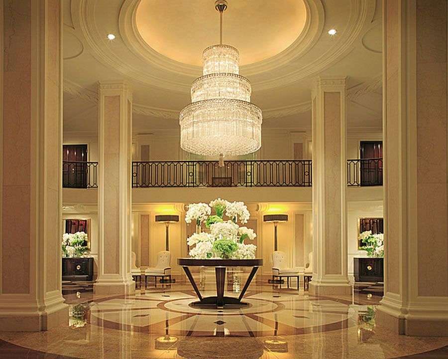 Luxury interior designs luxury lobby interior design of for Luxury hotel room interior design