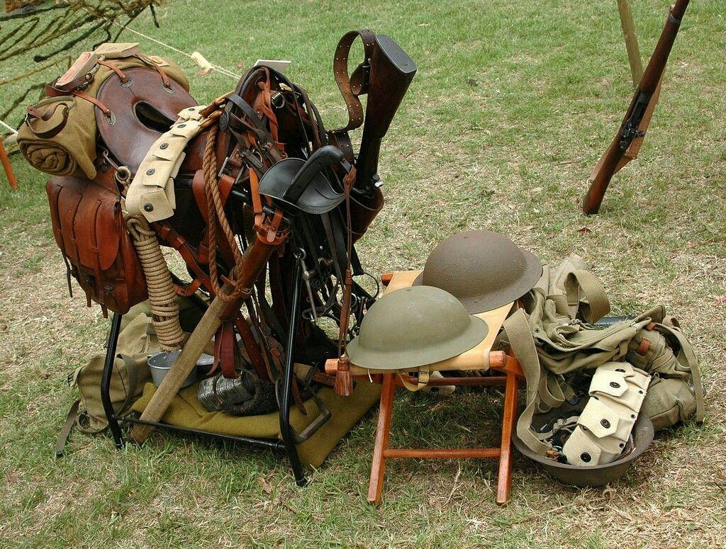 WW1 Cavalry equipment
