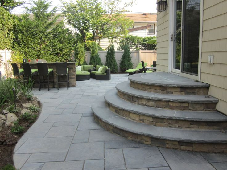 Cambridge paver stairs - Google Search | Paver stairs ...
