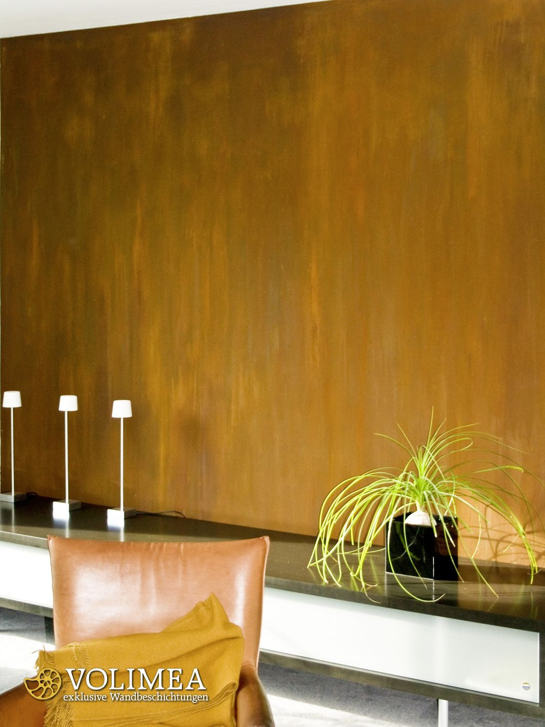 Schoner Wohnen Mit Rostputz Von Volimea Hochwertige Wandideen Furs Bad Flur Wohnzimmer Kuche Schlafzimmer Oder Eine Kaming Wandgestaltung Interieur Design