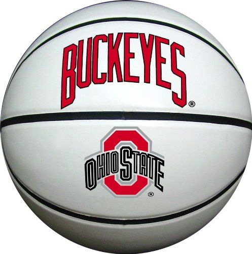 Ohio State Buckeyes Mens Composite Leather Indoor//Outdoor Basketball