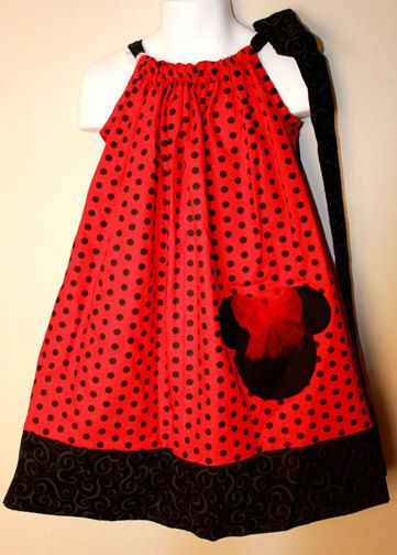Red and black Minnie Mouse Pillowcase Dress Free by JMDdesigns626 $24.99 & Red and black Minnie Mouse Pillowcase Dress Free by JMDdesigns626 ... pillowsntoast.com