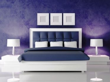 Decorating Color Schemes Indigo Is A Perfect Color To Induce Sleep In A Bedroom