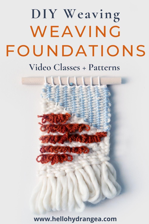 Foundations Weaving Class Videos + Ebook Weaving