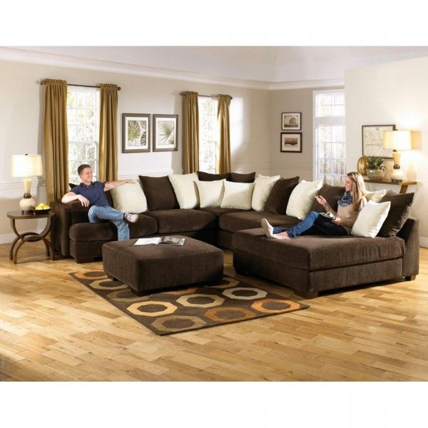 Jackson Axis Sectional Rsf Corner Sofa Piece Chenille Fabric 442936 Large Sectional Sofa Furniture Jackson Furniture