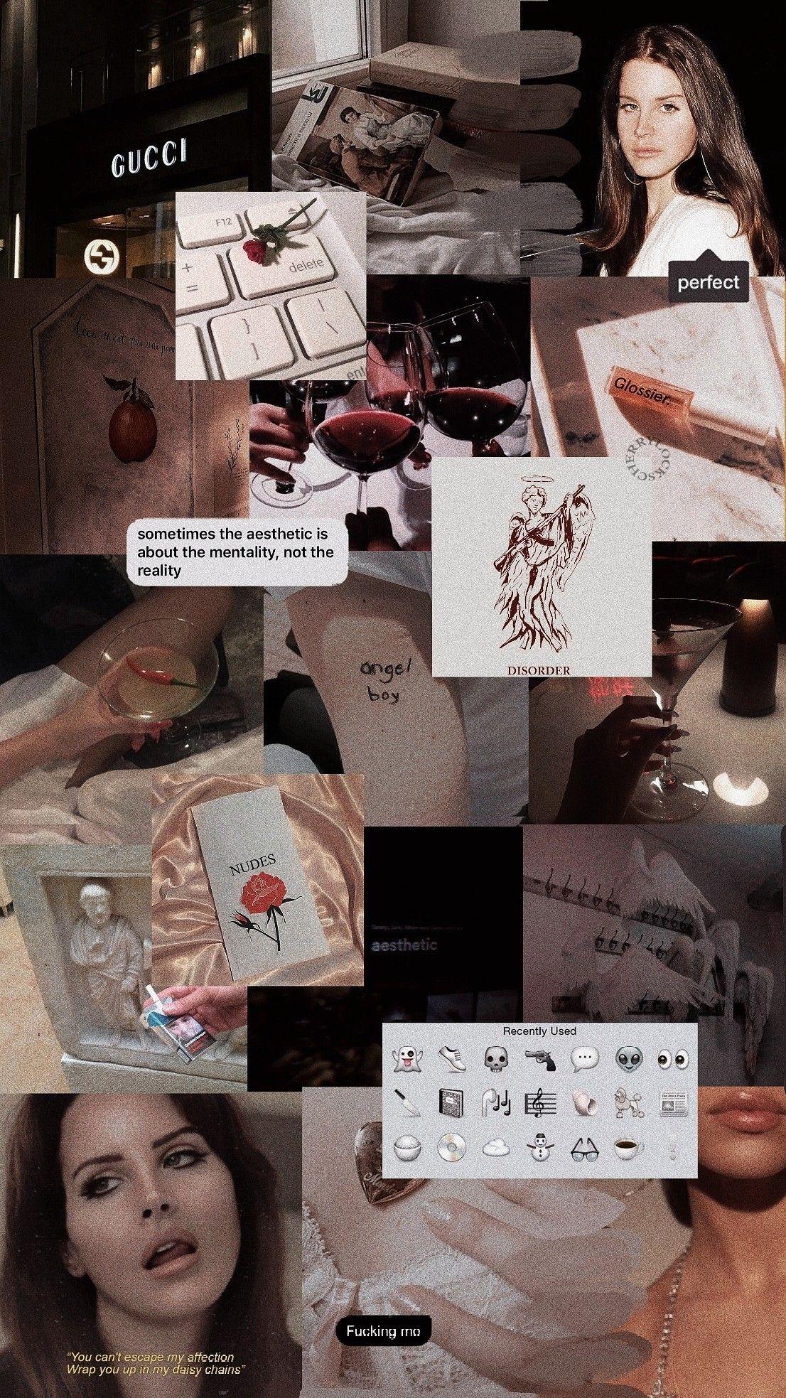 Lana Del Rey Lockscreen Lana Del Rej Vintazh Oboi Multiplikacionnye Citaty