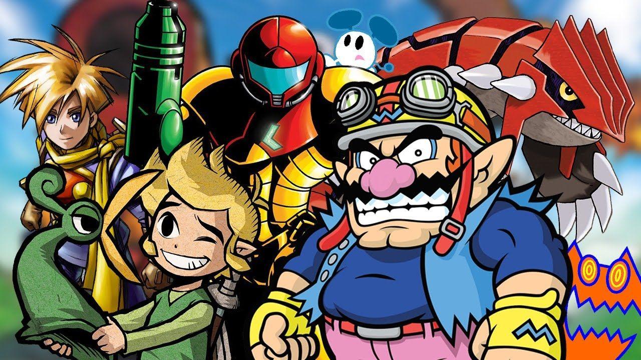 Top 25 Game Boy Advance Games Game boy advance, Gba, Gameboy