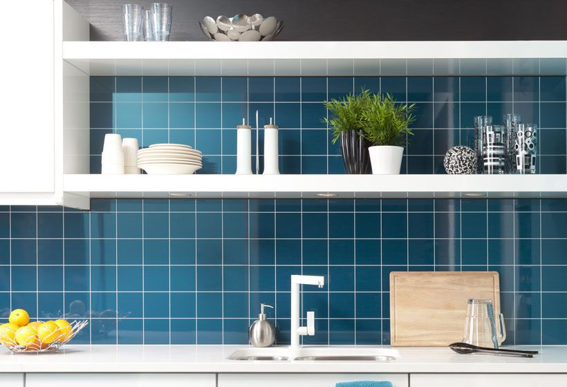 Berry Alloc Kitchen Wall 3mm Bleu Pétrole