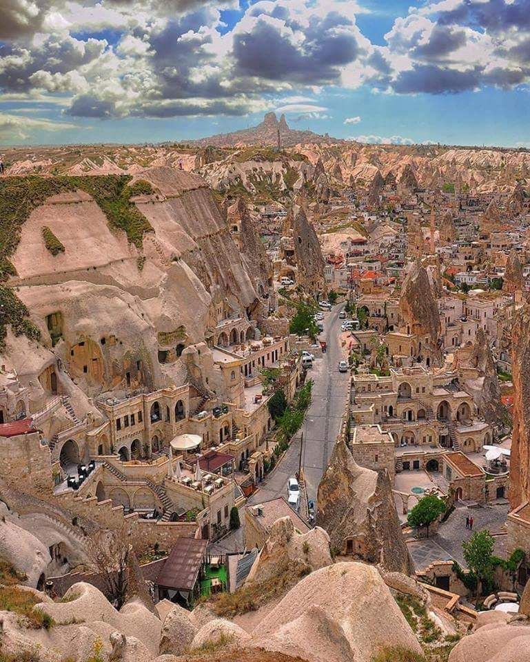 Amazing Places To Go Europe: Cappadocia Turkey Pics
