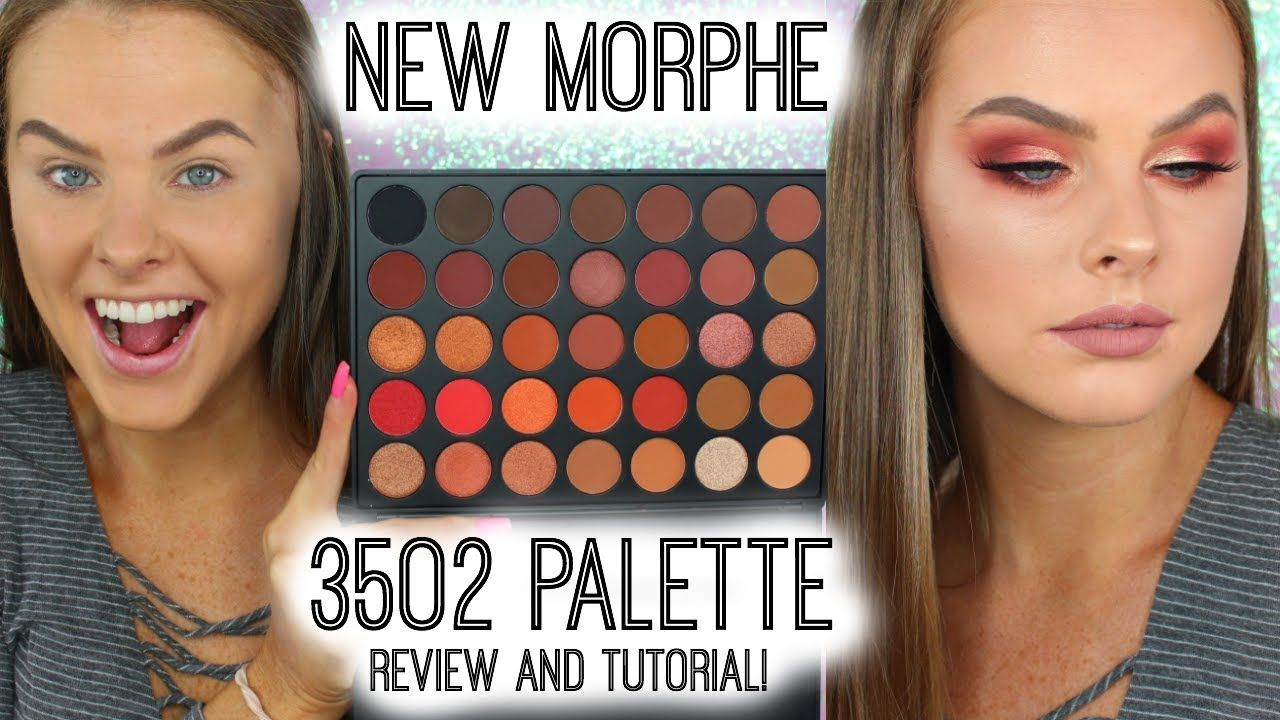 NEW** Morphe 35O2 Palette Review AND Tutorial! - YouTube