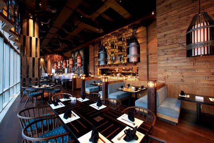 Enmaru Japanese fine dining restaurant by Metaphor, Jakarta – Indonesia » Retail Design Blog