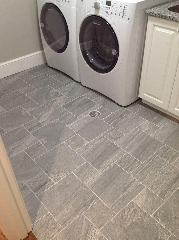 Fancy Design Laundry Room Flooring Basement Best 25 Grey Laundry Rooms Ideas On Pinterest Jpg 736 Laundry Room Tile Laundry Room Flooring Basement Laundry Room