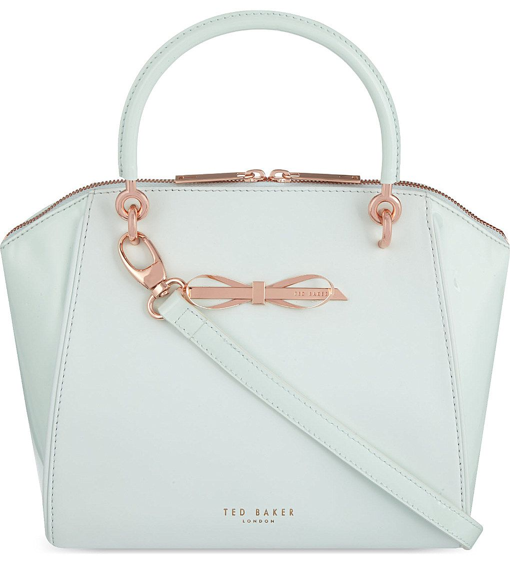 b9c426a89579 TED BAKER - Pailey small slim bow tote bag