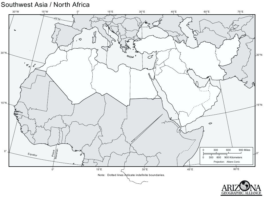 Southeast Asia North Africa Map blank map of north africa and ...