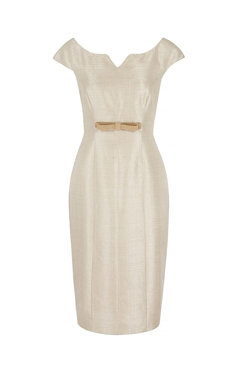 Suzannah hollywood dress in soft metallic gorgeous look for any