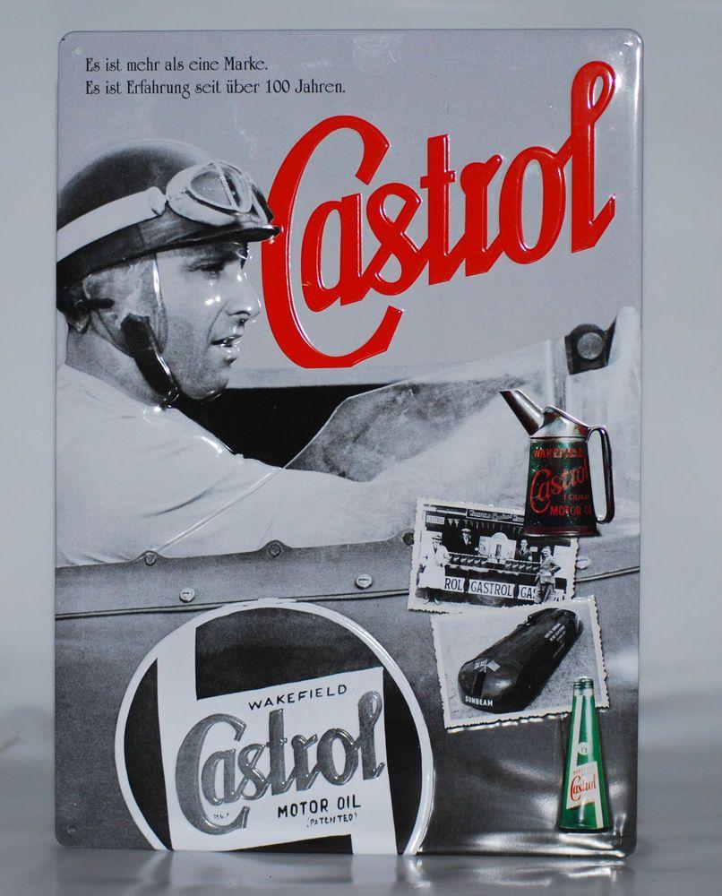 Castrol Blechschild ca. 21 X 30 cm Neu und original verpackt. Etwas ...