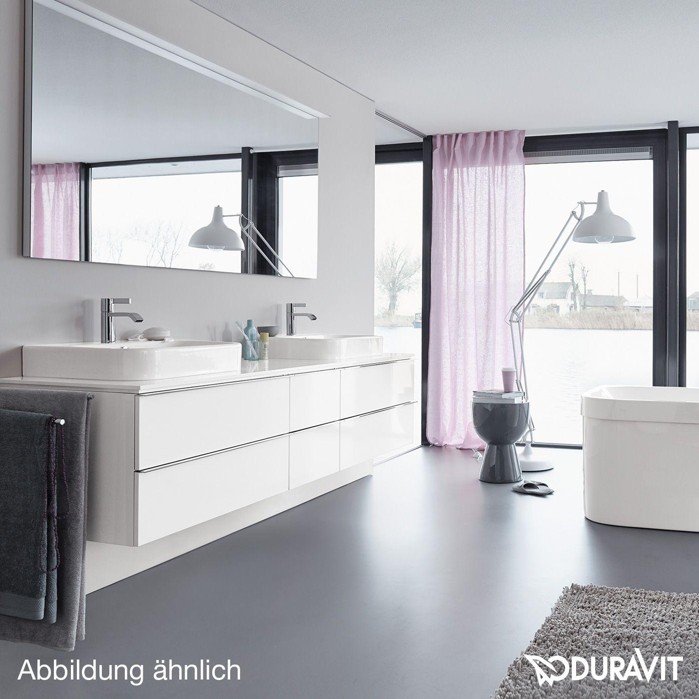 Duravit Happy D.2 countertop washbasin white   Home   Pinterest ...