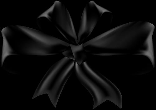 Black Bow Png Clip Art Ribbon Png Clip Art Black Bow