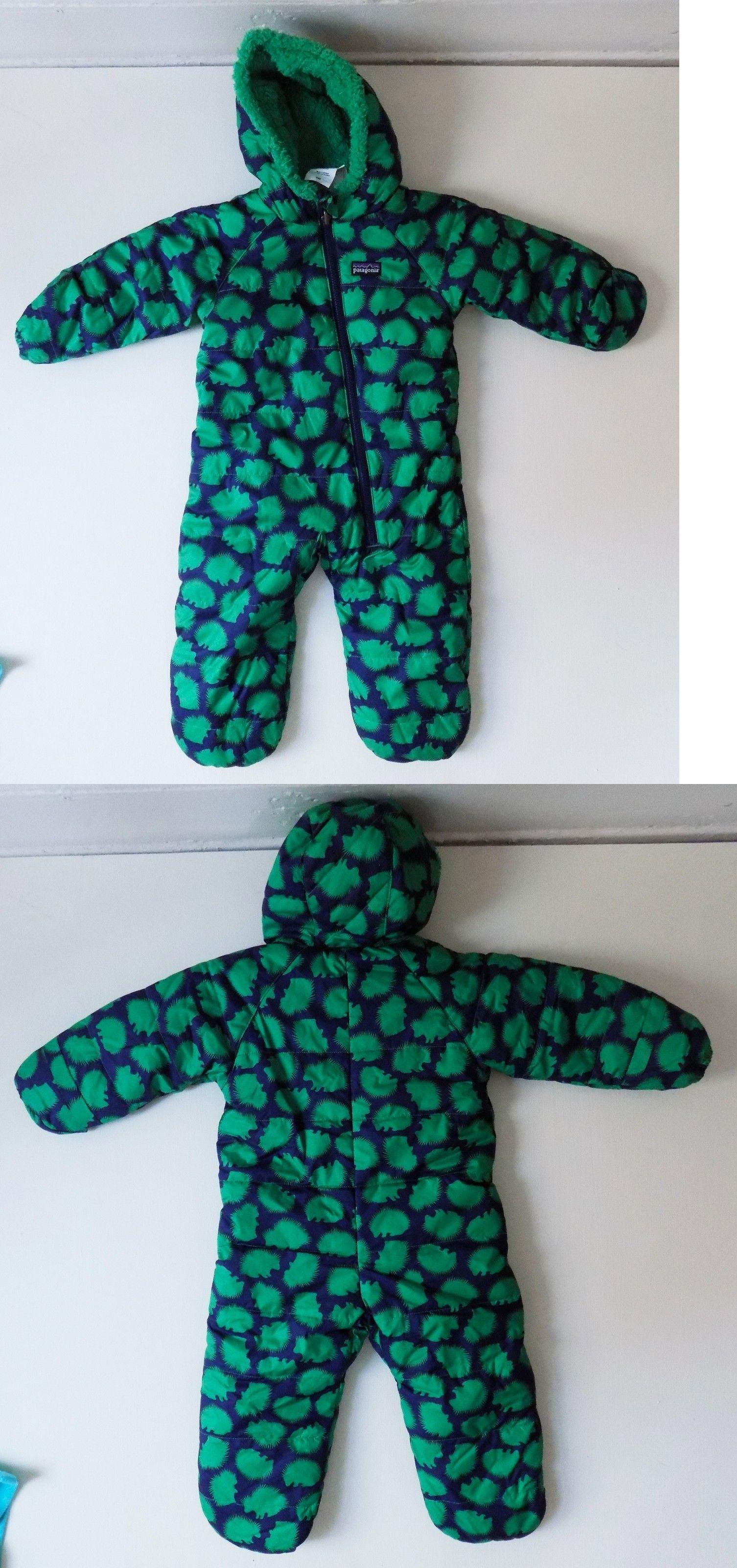 6efba1336eec Outerwear 163399  Patagonia Baby Snowsuit Fleece Bunting 6 Months ...