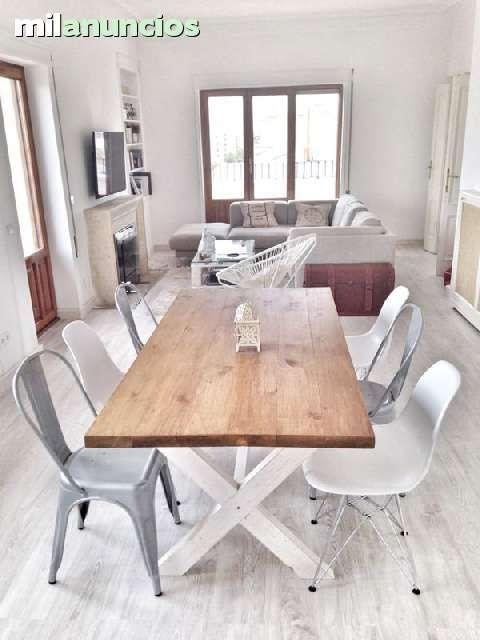 Mil anuncios com mesa centro madera maciza muebles mesa for Muebles de salon milanuncios