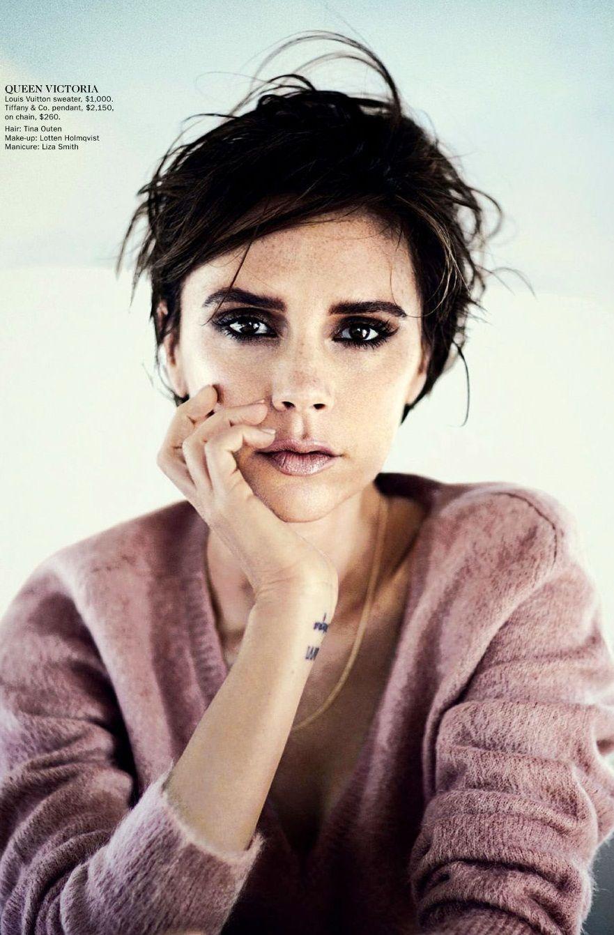 smokey eyes (Victoria Beckham Vogue Australia