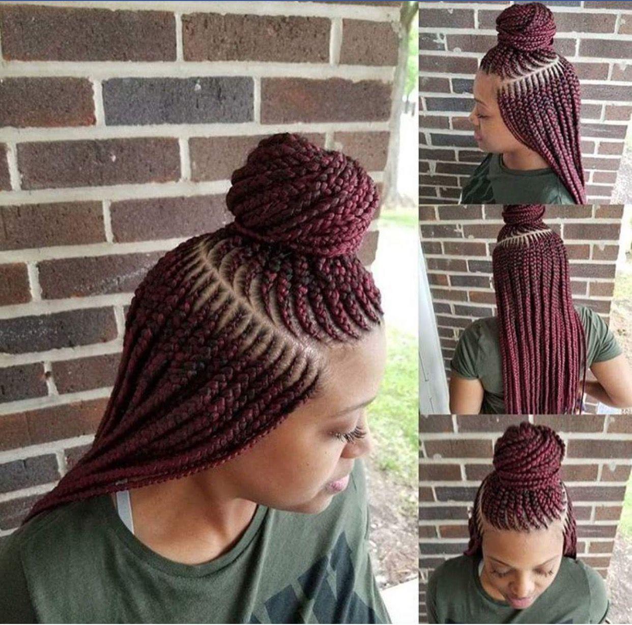 39+ Braided hairstyles for black hair pinterest ideas