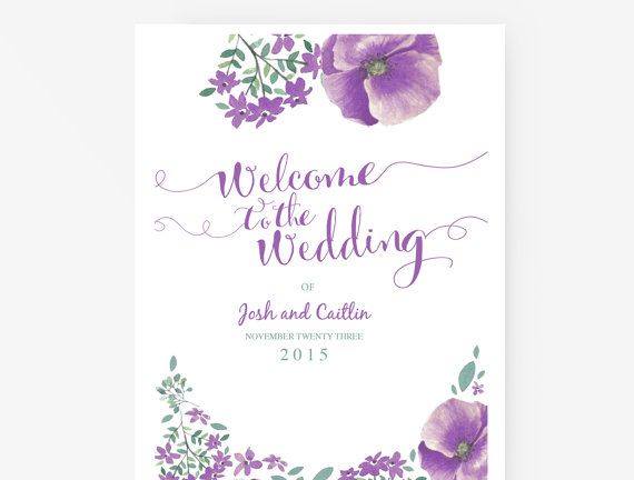 Wedding Program Template Editable Word template Instant - Menu Word Template