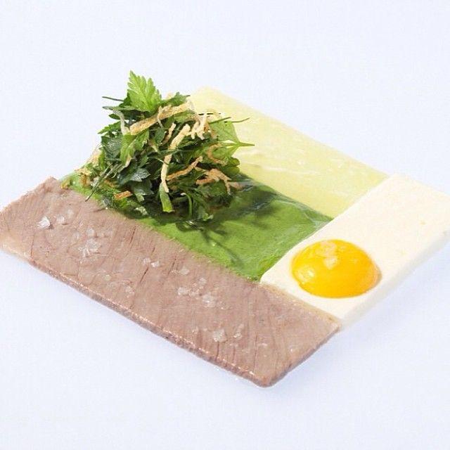 The Art Of Plating On Instagram Tbt Simmered Lamb Potato And Egg By Chef Sven Elverfeld Of Restaurant Aqua From Wolfsburg Germa Essen Gourmet Grune Sauce