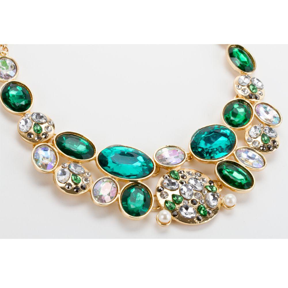 6d0be777b4c6 Collar Gargantilla Dorado Con Perlas Y Aretes Dorado Modelos C024 ...